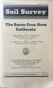 Santa Cruz Soil Survey Cover