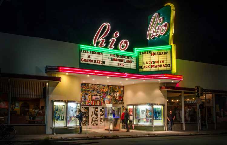 The Rio stands out as a local beacon of entertainment.