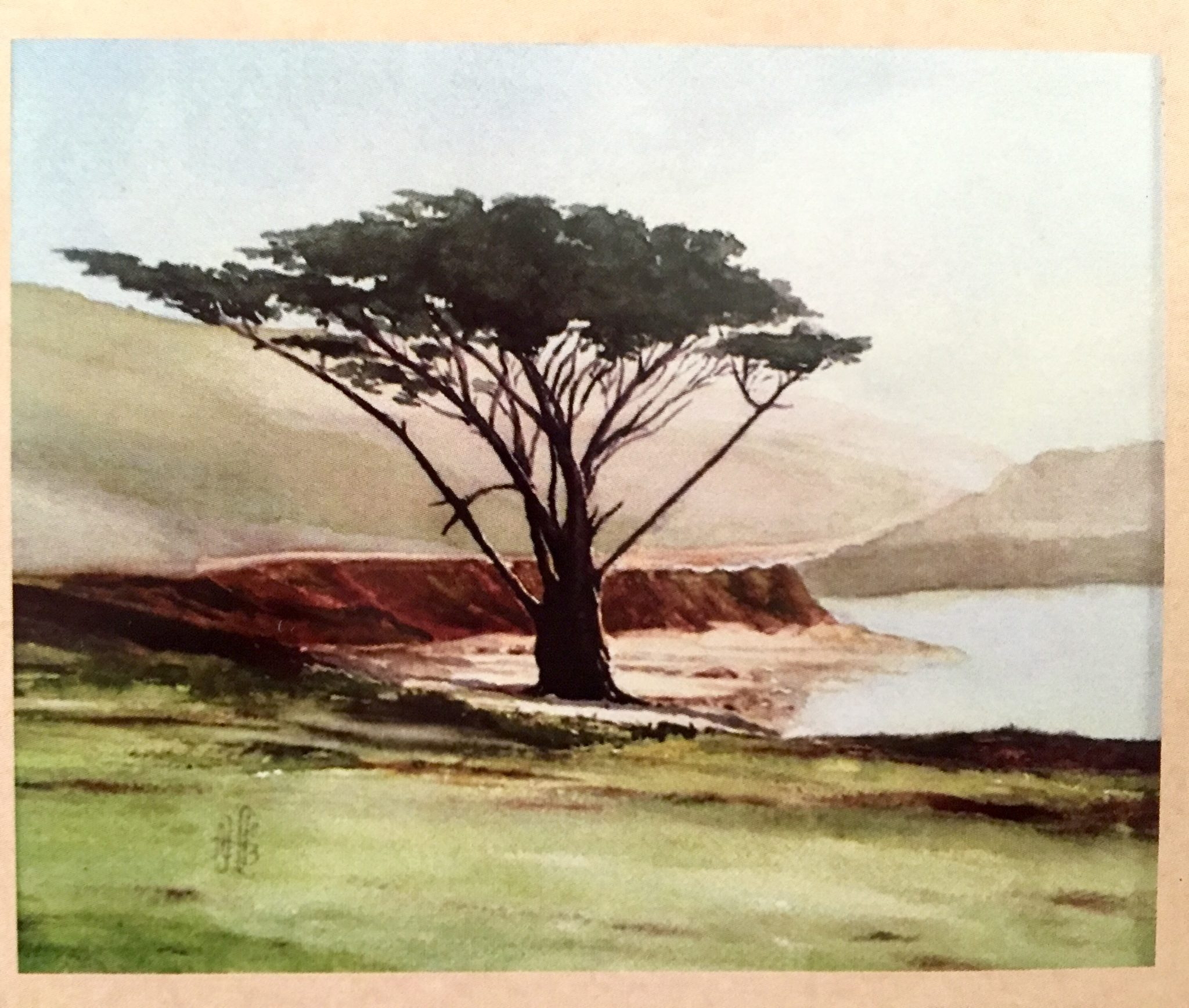 The Santa Cruz Watercolor Society at the R. Blitzer Gallery.