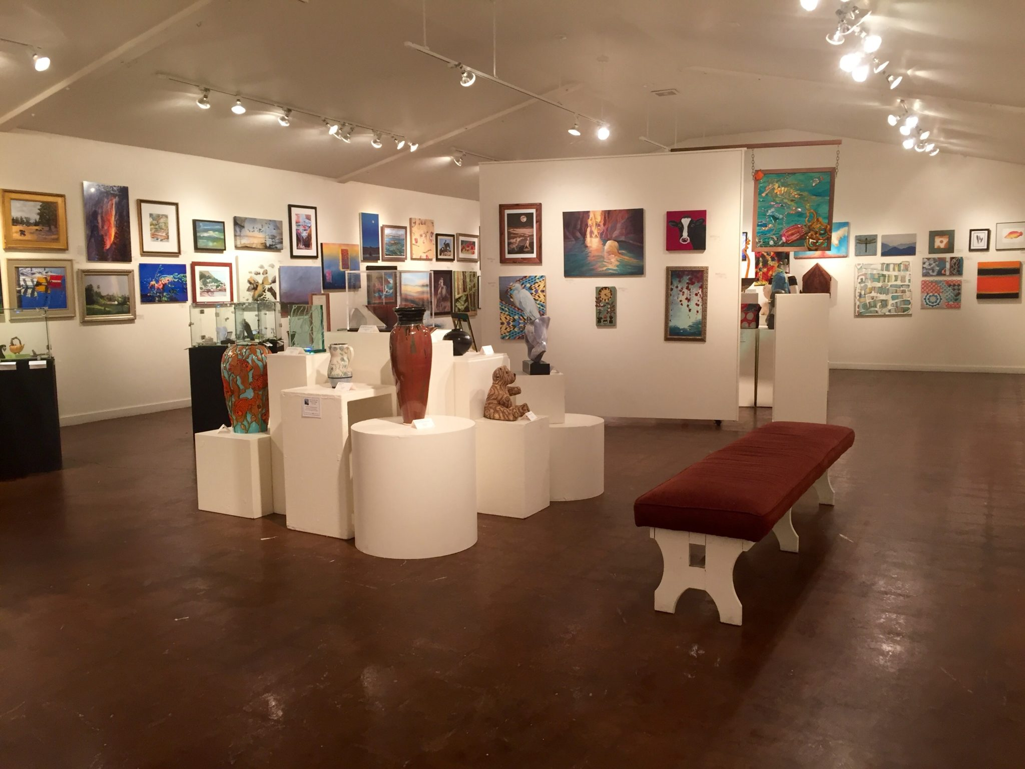 View samples from the entire tour at the Santa Cruz Art League Preview Exhibit, open until October 16, 2016.