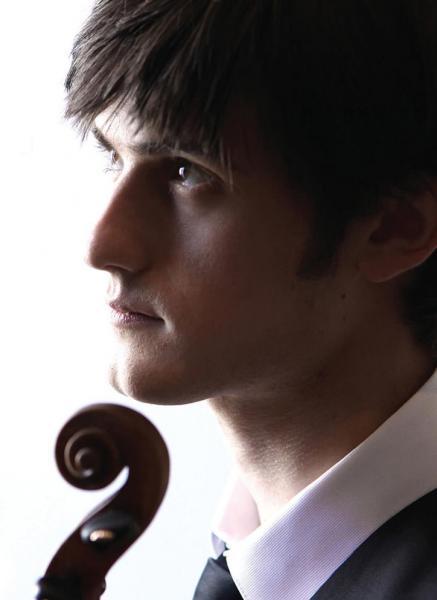Nigel Armstrong, the Santa Cruz Symphony's new Concertmaster.