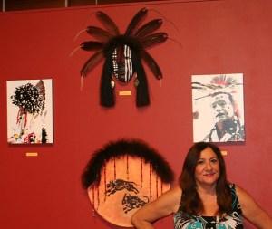 Petaluma Museum Exhibit, Becky Olvera Schultz.