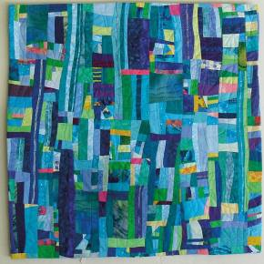 "A quilt by recently featured artist, <a href=""http://localsantacruz.com/art/ann-baldwin-may-featured-artist/"">Ann Baldwin May.</a>"