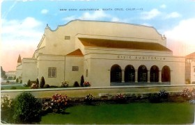 Santa Cruz Civic Auditorium - 1948