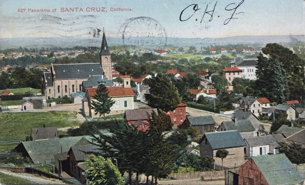 Panorama of Santa Cruz