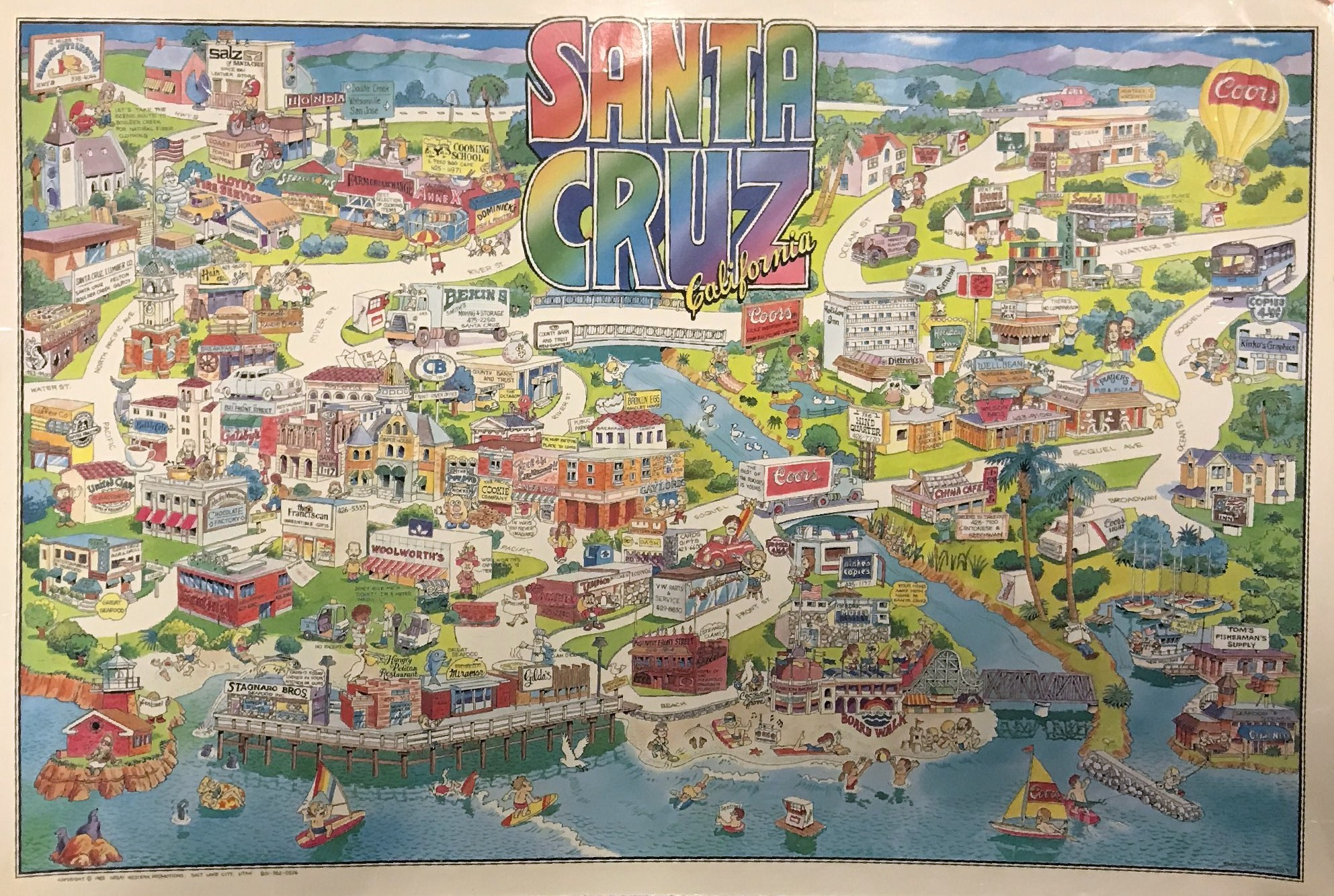 Santa Cruz in the 80s | Local Santa Cruz
