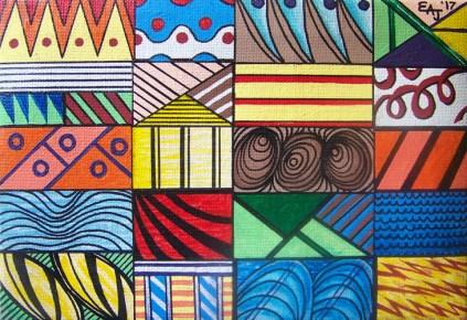 "Ernest Amos-Jackson - ""Dimensional Windows"""