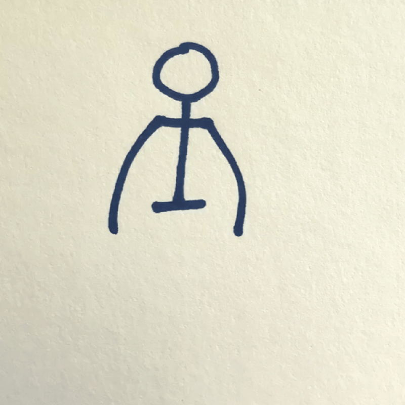 How to Draw a Stick Figure - Step 4
