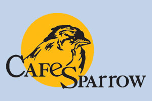 cafe sparrow logo
