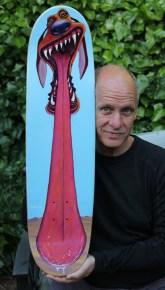 John McKinley skateboard, 2017