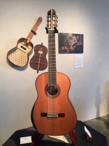 Kenny Hill, Executive Director of Santa Cruz Art of Guitar and Founder of Hill Guitar Company