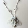 "Shelon Bennett - Found object ""Bee"" necklace"