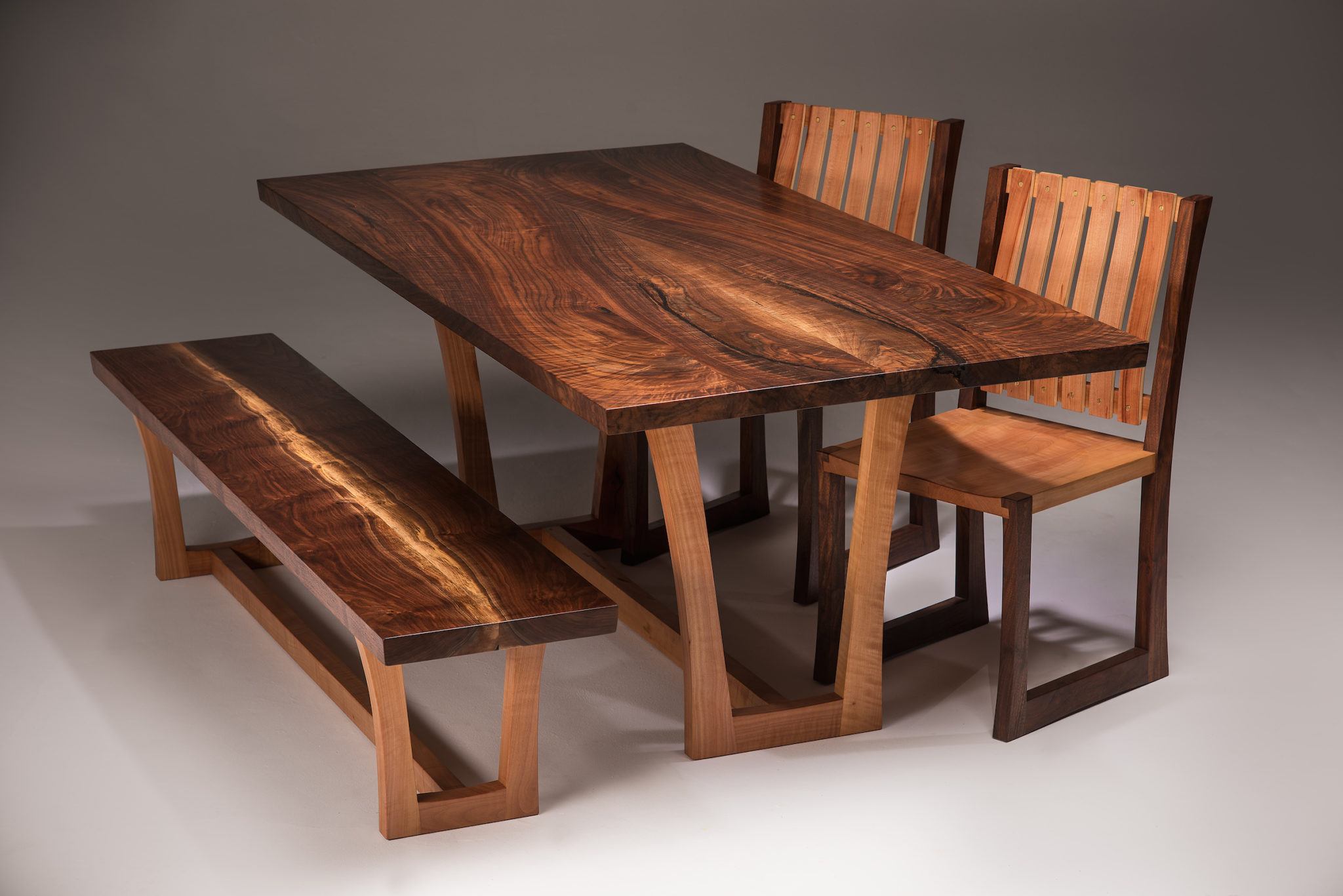 Tremendous Joey Kochlacs Madrone And Walnut Featured Series Local Gmtry Best Dining Table And Chair Ideas Images Gmtryco