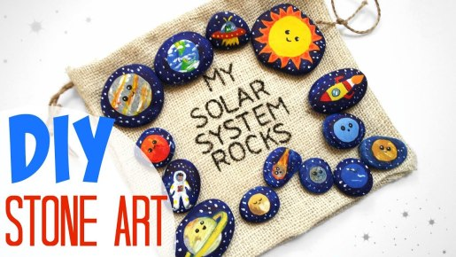 Video: DIY Solar System Stone Art