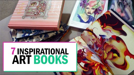 7 Inspirational Art Books
