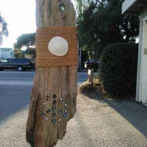 Tamara Norris - Large Peace Driftwood