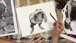 Ciara Barsotti - Freehand Ink Drawings: Featured Series