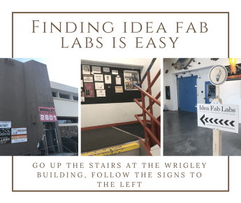Idea Fab Labs Directions