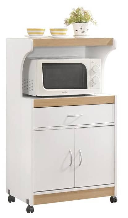 best microwave carts in 2021 simple