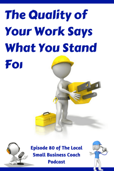 Is your quality of work slipping