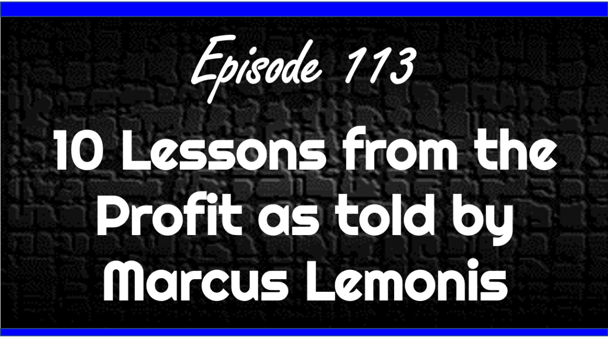 the Profit as told by Marcus Lemonis