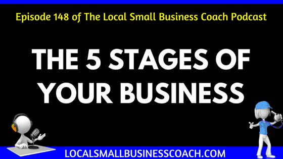 The 5 Stages of Your Business