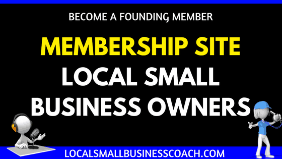 Membership Site for local small business owners