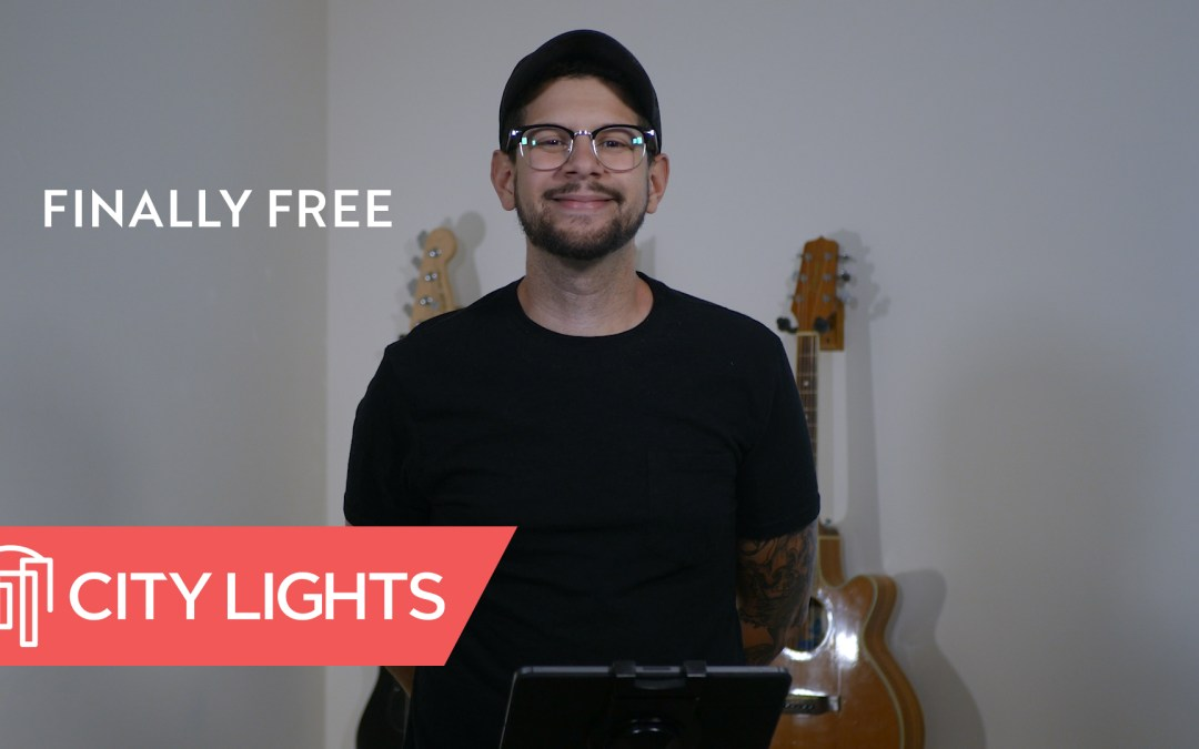 Cover image of the Finally Free message from City Lights Church