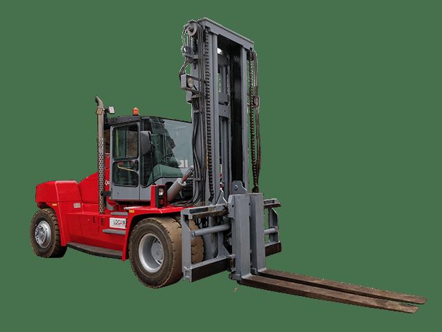 Chariot élévateur DCE 160 - 16 tonnes - Kalma - Lomé Togo Ouest Afrique