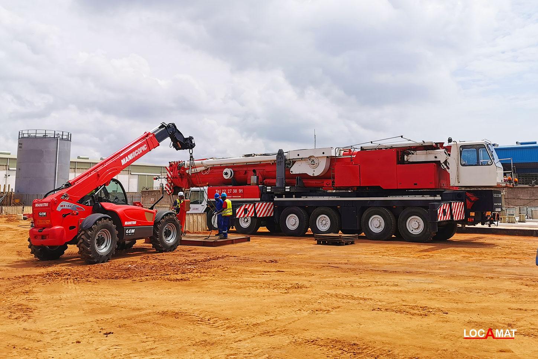 Engins de levage et manutention à Lomé Ouest Afrique