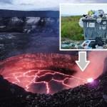A partir de 2020, tous les déchets de La Réunion seront incinérés dans le Volcan de La Fournaise