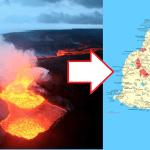 VOLCAN DE LA FOURNAISE: La LAVE se rapproche furieusement de l'île Maurice