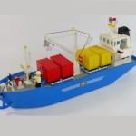 Île de La Réunion : un bateau en plastique échoué menace de se briser et de déverser tous ses briques LEGO sur le sol d'un salon