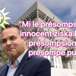"""""""Mi lé présompsioné innocent, ziska ke mon présompsion y présompe pu !"""": Didier Robert réaffirme son soutien à son innocence"""