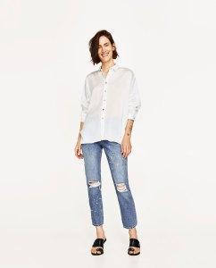 Camisa oversize Zara - Loca por la moda