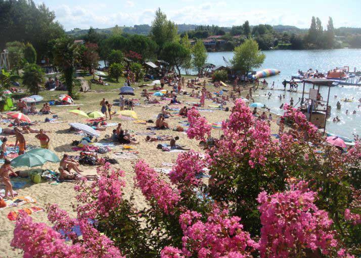 Lac de Sames Plage