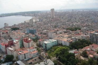 vista del hotel Habana Libre, Cuba