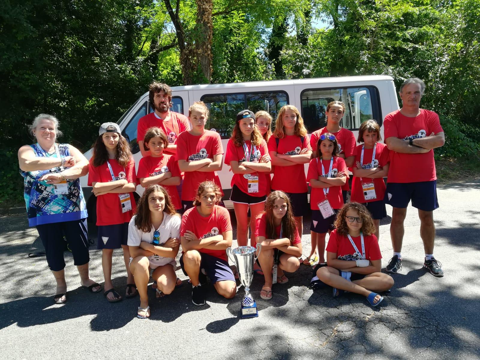 Habawaba Plus U13 Edizione 2019 : Le lontre in rimonta vincono il torneo