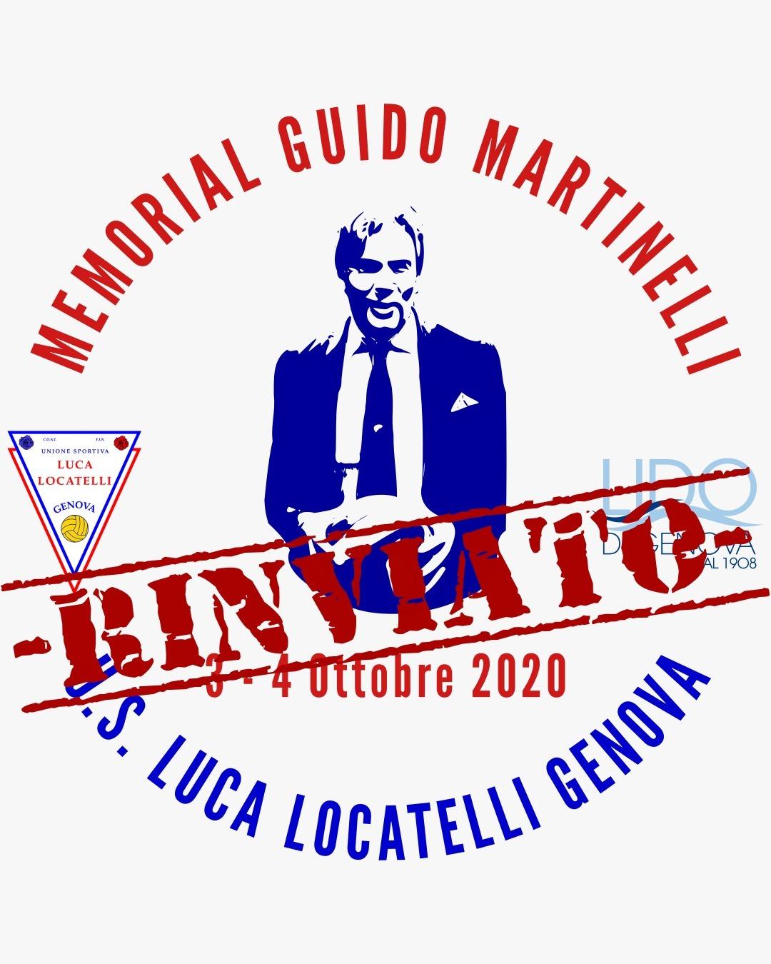 Memorial Guido Martinelli : Un impegno soltanto rimandato
