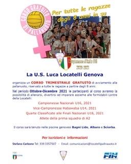 Col Memorial Martinelli 3 mesi di pallanuoto gratis per le ragazze!