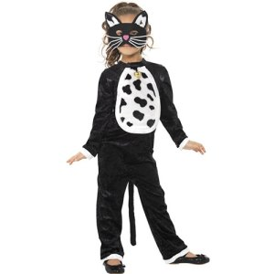 Costume enfant chat noir farce ou friandise