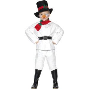 Costume enfant bonhomme de neige