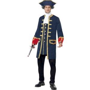 Costume homme commandant pirate