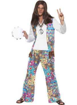 Costume homme hippie groovy