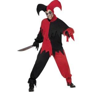 Costume homme joker noir rouge