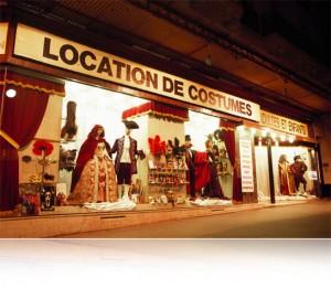 Location de déguisement - L'Académie du Bal Costumé, Paris