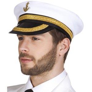Casquette amiral blanche