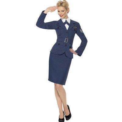 Costume femme Air Force seconde guerre mondiale