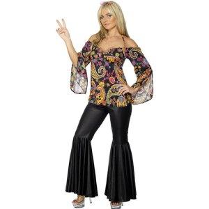 Costume femme hippie moderne