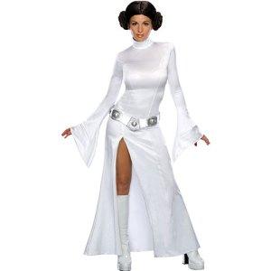Costume femme princesse Leia Star Wars licence